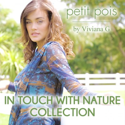 "Petit Pois by Viviana G Fall 2016 Collection ""In Touch With Nature"""