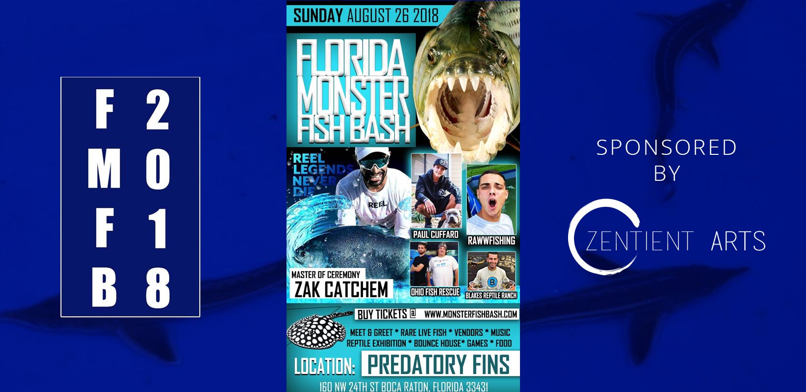 Florida Monster Fish Bash 2018 - Zentient Arts